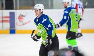 Līderi 'Liepāja' un 'Mogo' gūst kārtējās uzvaras Latvijas hokeja virslīgā