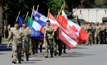 Ārvalstu karavīri Ādažos strauji palielina vietējā biznesa apgriezienus