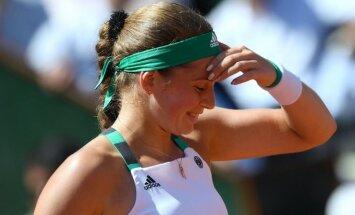 Ostapenko var pārrakstīt pasaules tenisa vēsturi