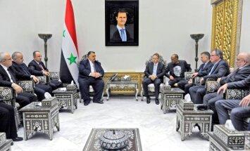 Vācijas nacionālistu deputāti tikušies ar Sīrijas ministru