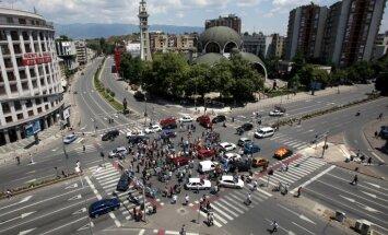 Maķedonijas prezidents apsūdz ES un NATO bezatbildībā