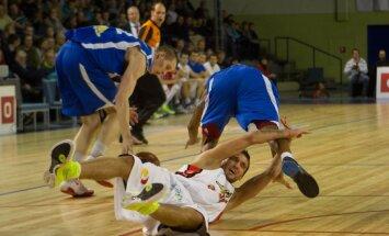 'Ventspils' basketbolisti zaudē Šķēlem un 'Kalev/Cramo'