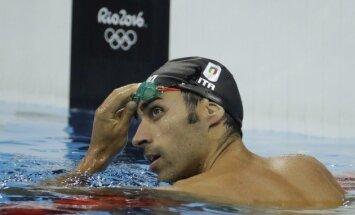 Četrkārtējam pasaules čempionam peldēšanā draud astoņu gadu diskvalifikācija