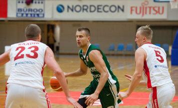 'Valmieras'/ORDO basketbolisti uzvar arī otrajā BBL spēlē; 'Ogre'/'Kumho Tyre' uzvar Rakverē
