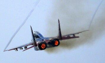 Ēģipte saņem pirmās krievu 'MiG-29' kaujas lidmašīnas