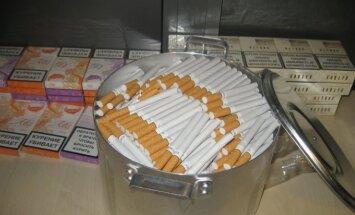 VID nedēļas nogalē 'noķer' 723 000 kontrabandas cigarešu