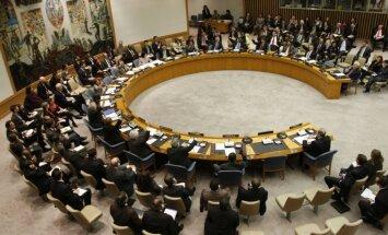 ANO Drošības padome noraida rezolūciju par Palestīnas valsti
