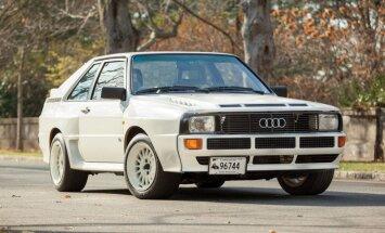 Klasiskais 'Audi Sport quattro' par pusmiljonu dolāru