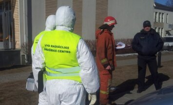 Divas Mūkusalas biznesa centra ēkas slēdz 'baltā pulvera' aplokšņu dēļ (plkst.11:26)