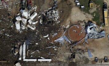 Fotoreportāža: Teksasas sprādziena postījumi