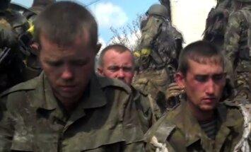 UDD publisko video ar vasarā pie Ilovajskas sagūstītiem Krievijas karavīriem