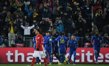 'Rostov' futbolisti UEFA Čempionu līgas mačā negaidīti pieveic Minhenes 'Bayern'