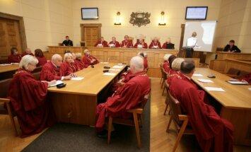 AT plēnumā izvērtēs tiesas darbību un ievēlēs CVK locekli