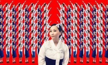 Mina Čeona – māksliniece, kura slepšus sūta uz Ziemeļkoreju lekcijas par mākslu