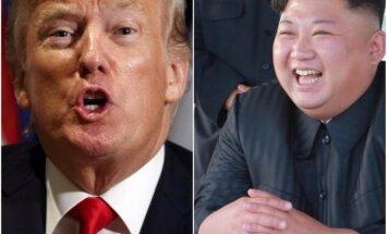 Tramps Čenunu nosauc par 'raķešu vīru' un brīdina iznīcināt Ziemeļkoreju