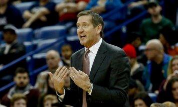 'Knicks' treneris Hornačeks cer uz Porziņģa drīzu atgriešanos komandas treniņos