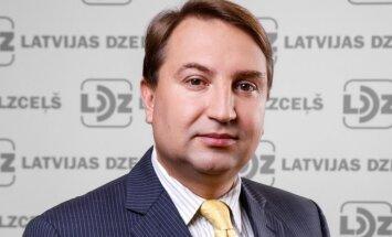 'Pasažieru vilciena' jaunais vadītājs Grigulis atstās 'Latvijas dzelzceļa' padomes locekļa amatu