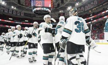 Balcers atkārtoti izsaukts uz NHL komandu 'Sharks'