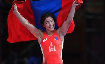 Pasaules čempionei brīvajā cīņā dopinga dēļ atņemta Āzijas spēļu zelta medaļa