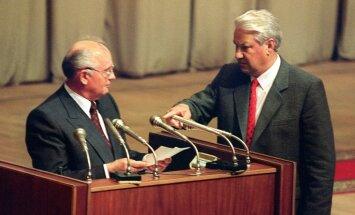 Ukrainas krīzē vainojama 'perestroikas' noraušana, paziņo Gorbačovs