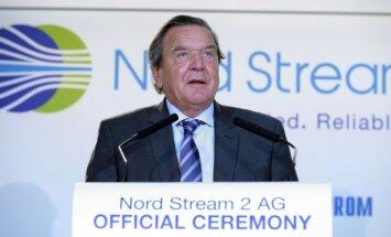 """Шрёдер назвал выдуманными аргументы против """"Северного потока-2"""""""