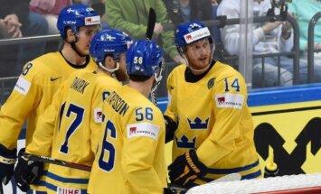Zviedrijas izlase gaida trīs spēlētājus no NHL