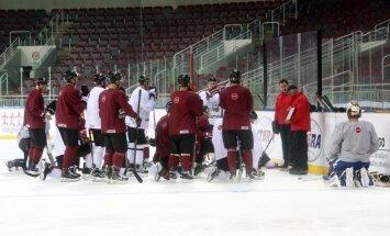 Vasiļjevs nosaucis Latvijas hokeja izlases sastāvu spēlei pret Dāniju