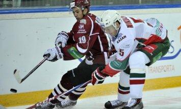 Rīgas 'Dinamo' LDz kausa finālā iegāž ļoti neveiksmīgs pirmais periods