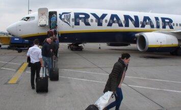 В аэропорту Дублина пассажир кинулся вдогонку за улетавшим лайнером
