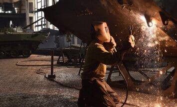 Foto: Ukrainas armijas bruņutehnikas rūpnīca un remonts