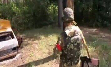 Video: Ukrainas karavīri pārņēmuši separātistu nometni