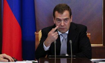 Krievijas premjers pārmet Lietuvai mediju brīvības nerespektēšanu