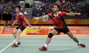 Indonēzijai tiek zelts badmintona jauktajās dubultspēlēs