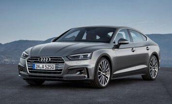 'Audi' parādījis jauno 'A5 Sportback' modeli