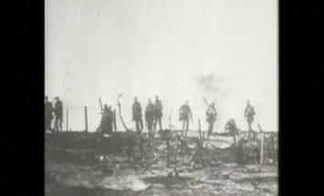 100 gadi kopš sākuma: Pirmais pasaules karš dokumentālos kadros