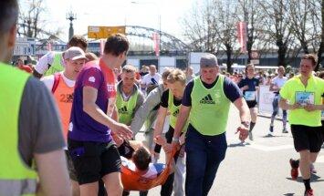13 Rīgas maratona dalībnieki nogādāti ārstniecības iestādēs