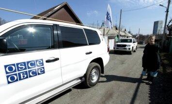 Mīnas sprādzienā Austrumukrainā gājis bojā EDSO darbinieks