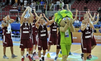 Latvijas basketbolistiem 'Eurobasket 2013' turpinājumā principiāls duelis pret Lietuvu