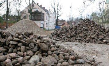 В центре Кулдиги нашли средневековые захоронения
