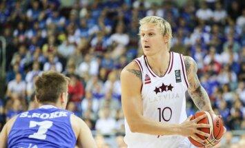 Сборная Латвии переломила ход матча с эстонцами и вышла в плей-офф