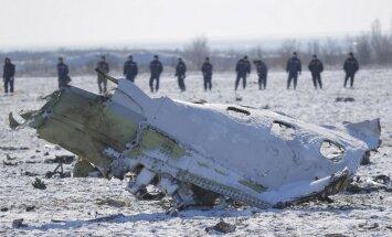 Traģēdija Rostovā: Avārijas iemesls - pilota kļūda, pieļauj 'Rossija 1'