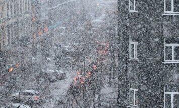 Синоптики: на выходных - дожди, мокрый снег и сильный порывистый ветер