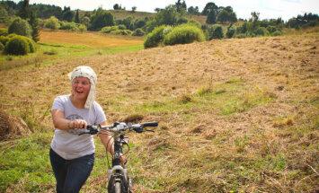 Izveidots pirmais marķētais velomaršruts Latgalē, kas ved arī gar Krievijas robežu