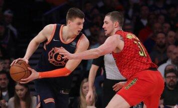 Porziņģim 22 punkti un pieci bloķēti metieni pret NBA pastarīti 'Hawks'