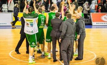 'Valmieras' basketbolistiem kārtējā dramatiskā uzvara LBL spēlē