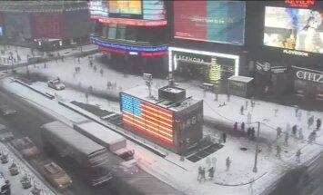 ВИДЕО: северо-восток США накрывает снежная буря