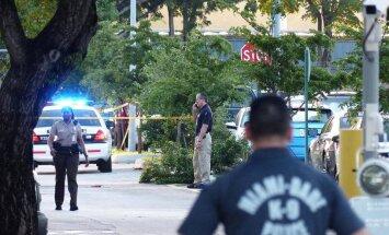 Maiami lidostas darbinieku autostāvvietā nošauti divi cilvēki