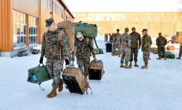 Pirmo reizi kopš Otrā pasaules kara Norvēģijā izvietoti ārvalstu spēki