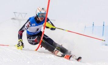 Kalnu slēpotājs Miks Zvejnieks sasniedzis savu FIS punktu rekordu