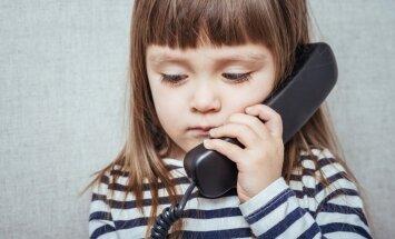 Uz bērnu Uzticības tālruni aicina zvanīt arī pedagogus un vecākus
